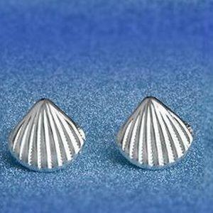 Jewelry - Seashell earrings silver 925